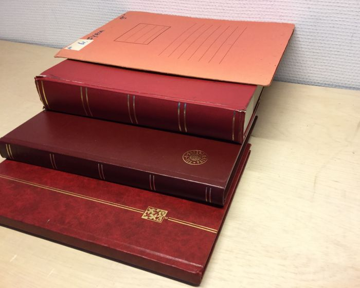 Frankrike Levant Colonies In 3 Stock Books And Folder Catawiki
