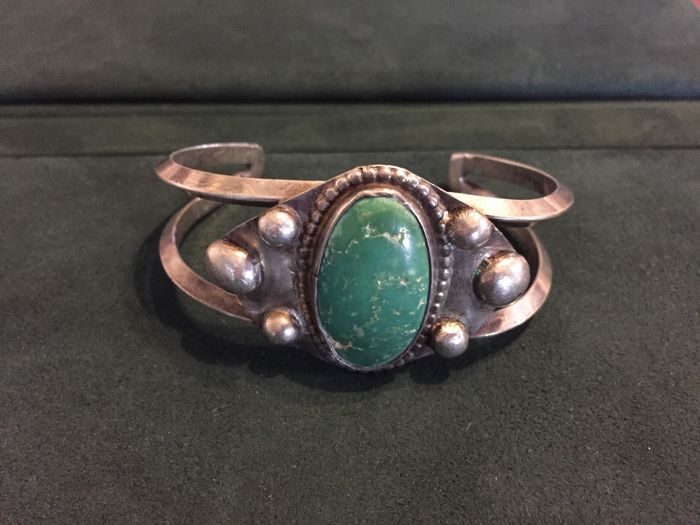 Sterling  Zilver - Armband Turquoise