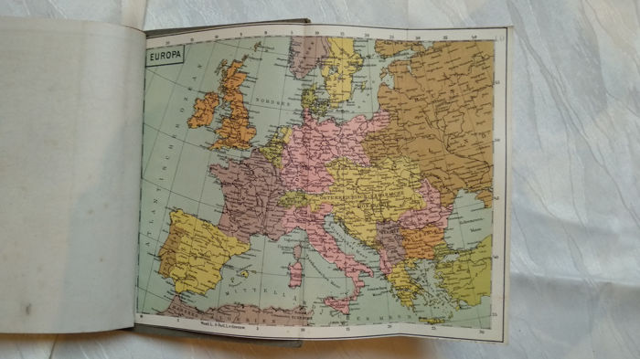 Germany - Empire; War Card Atlas / Maps - 1914 - Catawiki