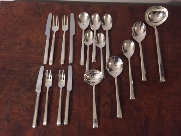 silver plated 90 cutlery of the German manufacture - Silver plated - Germany - 1950-1999
