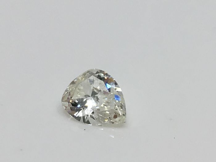 1 pcs Diamond - 0.43 ct - 梨形 - I - VS1 轻微内含一级