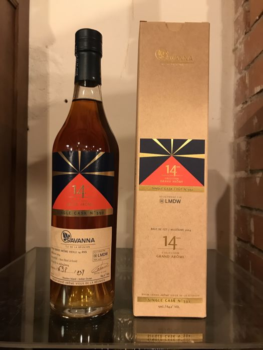 "Savanna 2004 14 years old La Maison du Whisky - Single cask 392 ""Collection Grand Arôme"" - 50cl"