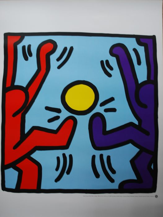 Keith Haring - Untitled - 2000