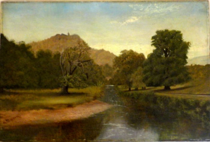 M. Thomson - Landscape with stream