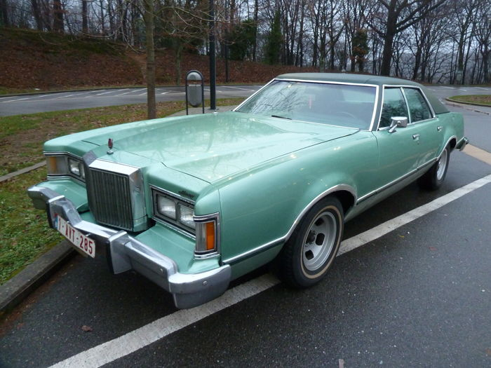 Ford USA - LTD II  Mercury brougham - 1979