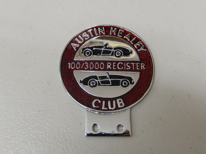 Badge - Vintage Austin Healey 100/3000 Register Car Badge - 2000
