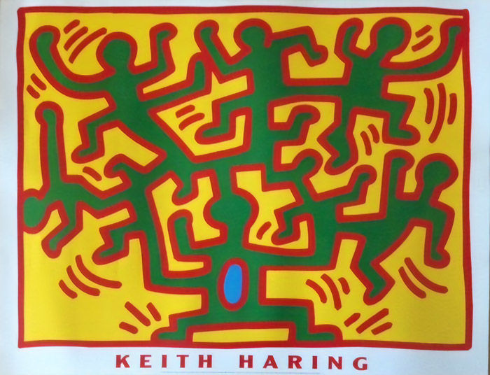 Keith Haring - Untitled (From the series Growing series)  - Jaren 1990