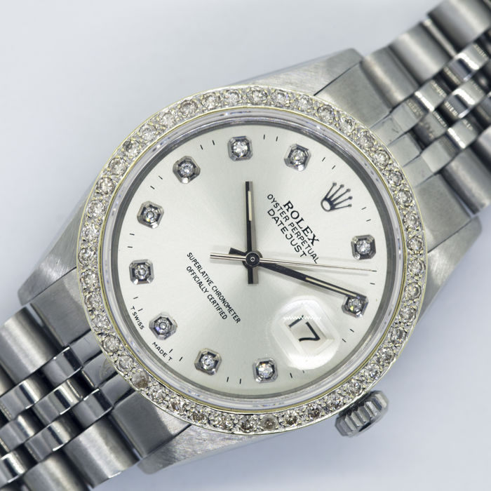 Rolex - Oyster Perpetual DateJust - 16014 - Homme - 1970-1979
