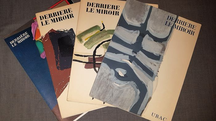 Raoul Ubac, Pierre Tal-Coat, & Richard Lindner - Four copies of Derriere Le Miroir