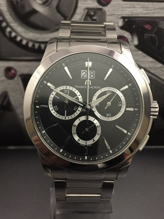 Maurice Lacroix - 'NO RESERVE PRICE' Miros Chronograph MI 1077 - Homme - 2000-2010