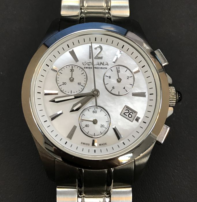 Golana - 'NO RESERVE PRICE' Mother of pearls Ladies chronograph watch - AU200.2 - Dames - 2011-heden