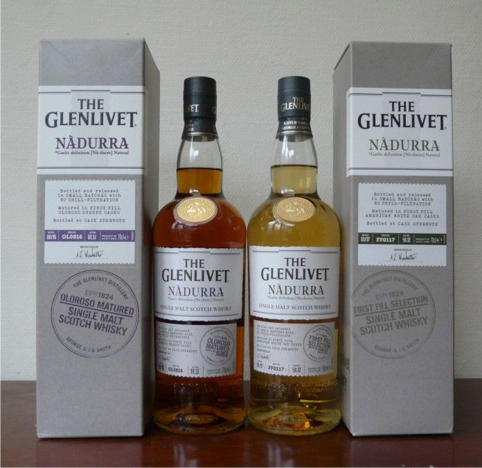 Glenlivet Nadurra First Fill Batch