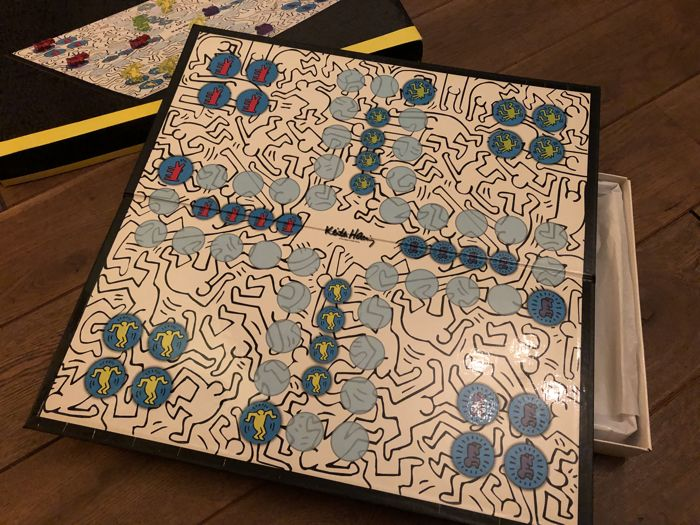 Keith Haring - Don't Worry - Board Game