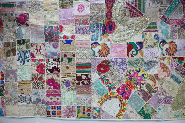 Patchwork Tapestry White (1) - cotton - After 2000