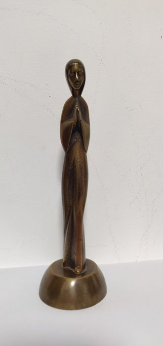 De Maagd Maria - Art Deco Sculpture