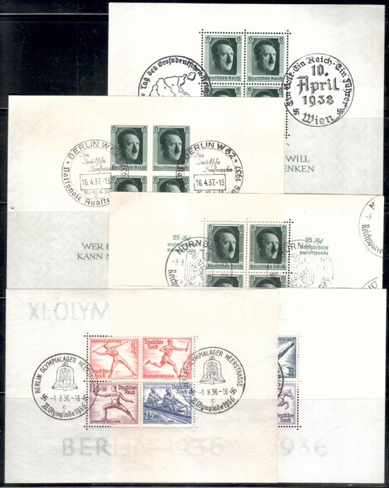 "Det tyske keiserrike 1933/1945 - Well-stocked collection ""Third Reich"""