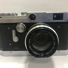 Canon VT 35mm Film Rangefinder Camera Body Canon Lens 50mm f:1.8 L Mount
