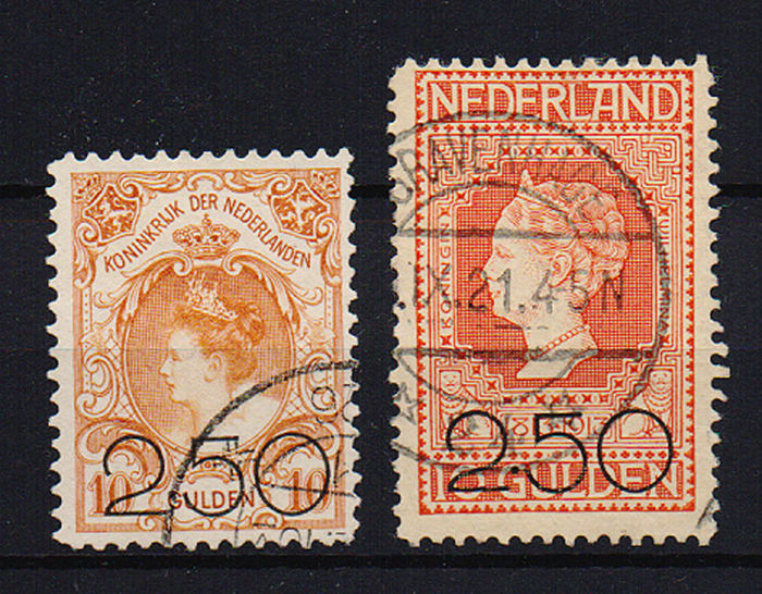 Alankomaat 1920 - Clearance issue - NVPH 104/105