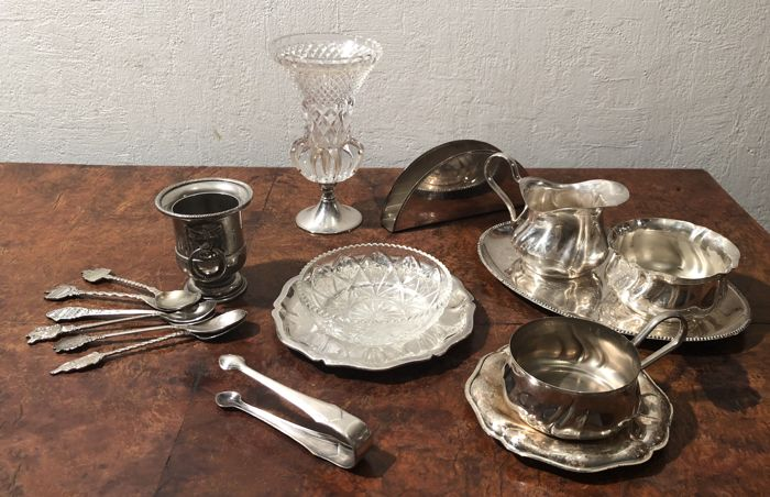 The English breakfast - Silver plated - U.K. - 20th century
