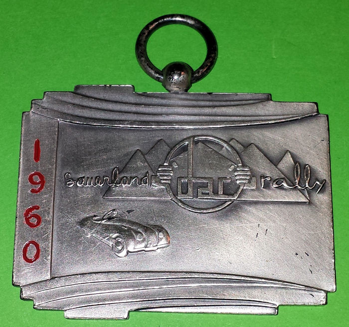Decoratief object - DAC Sauerland Rally  - 1960 (1 items)