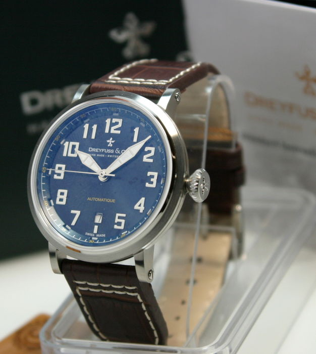 Dreyfuss & Co. - Automatic Swiss Made ungetragen - DGS00153/52 - Herren - 2011-heute