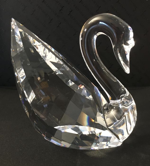 Swarovski - Swan Clear middle 1075309 Boxed (1) - Cristal