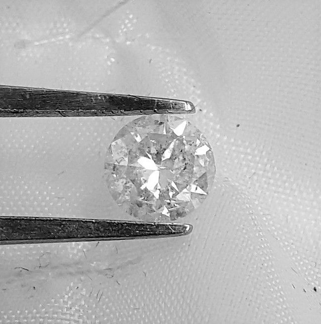 Diamant - 1.01 ct - Briljant - E - NO RESERVE, SI2