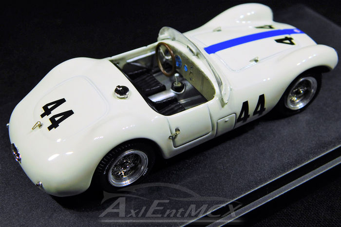 Maserati A6 GCS #44 Casablanca 1954 Colonel Smone 1:43 Model BANG