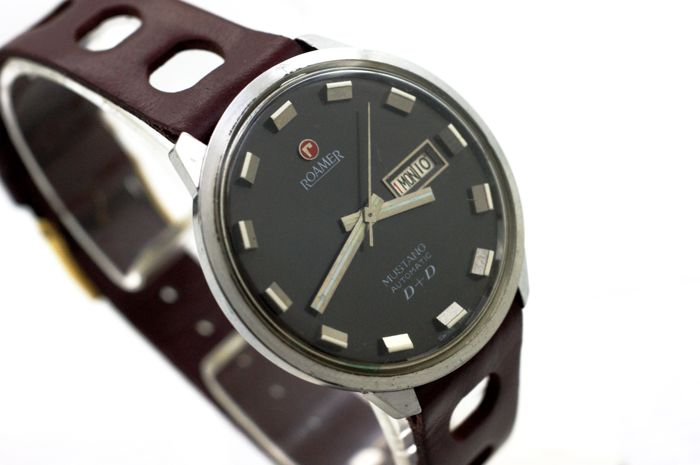 Roamer - Mustang D+D Automatic Very Rare! - Ref.478.9120.301 - Hombre - 1960-1969