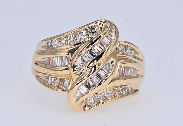 Goud - Ring - 1.25 ct Diamant