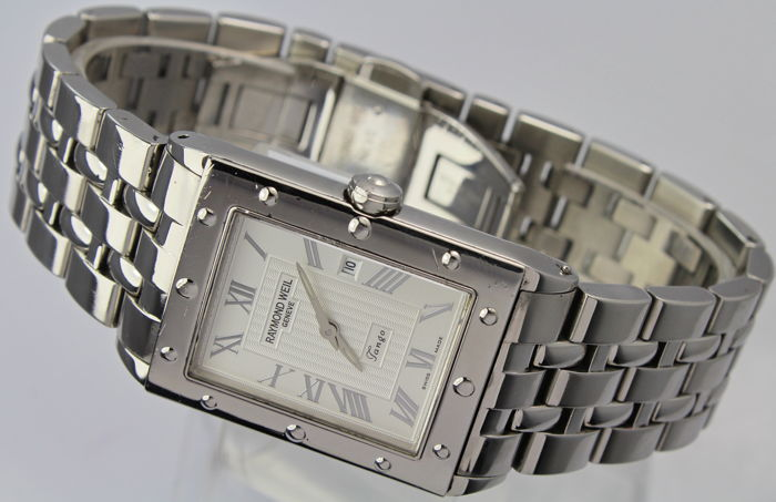 Raymond Weil - Geneve Tango Swiss Made - 5380 - Excellent Condition Box & Papers - Bărbați - 2000-2010