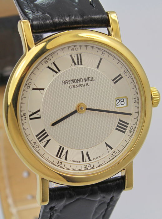 Raymond Weil - 18kt Gold Plated  - 9187 -  Excellent Condition  - Heren - 1980-1989