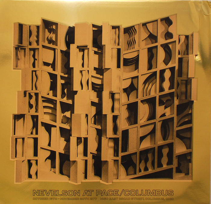 Louise Nevelson - Louise Nevelson - 2x Pace / Columbus op goud en zilver - 1977