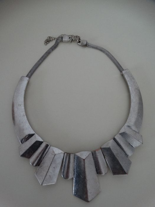 Maschinery metalen ketting Art Deco Jacob Bengel - Ketting