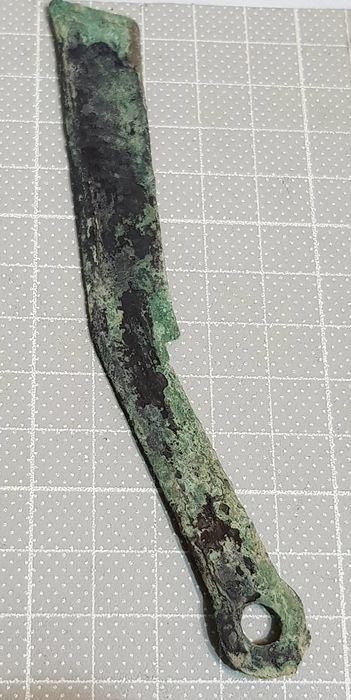 中國 - Ming Knife Money, the War-states Period (475-221 B.C.)