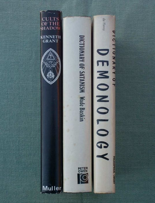 Various - Books about the occult, demonology & satanism