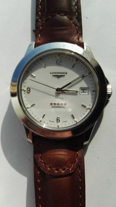 Longines - Admiral - NO RESERVE PRICE - L. 629.1 - Heren - 1980-1989