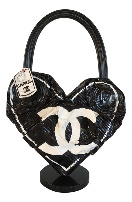 Norman Gekko - Crushed Chanel bag