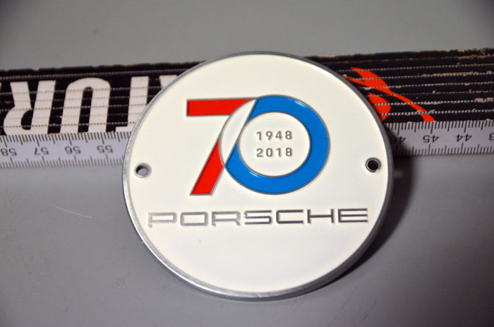 Decorative object - Orginal Porsche Plakette  70-Jahre-Porsche  - 2018-2018