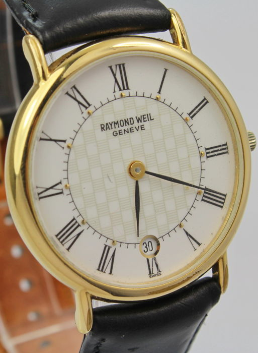 Raymond Weil - Geneve 18kt Gold Plated  - 9124 - 30 mm Case Mint Condition - Bărbați - 2000-2010