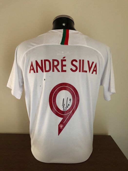 best service 9eb5b 565ae Portugal - National team - André Silva - 2018 - Jersey ...
