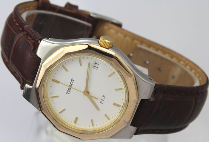 Tissot - Two tone Gold Plated  - PRX - Heren - 1990-1999