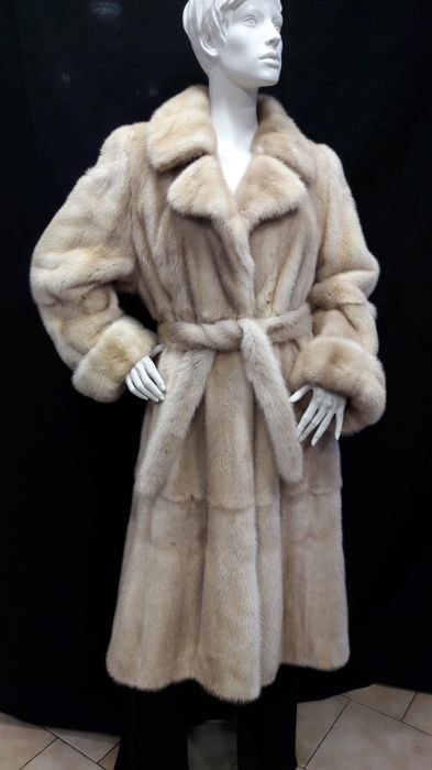 visone chiaro - Mink fur - Coat - Made in: Italy