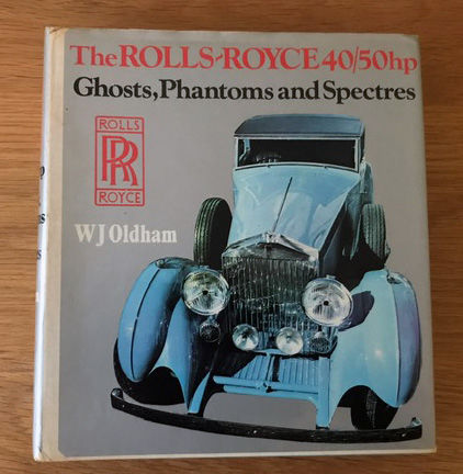 Books - 3 x The Rolls Royce 40 /50 HP Ghosts Elegance++ - 1971-1974 (3 items)