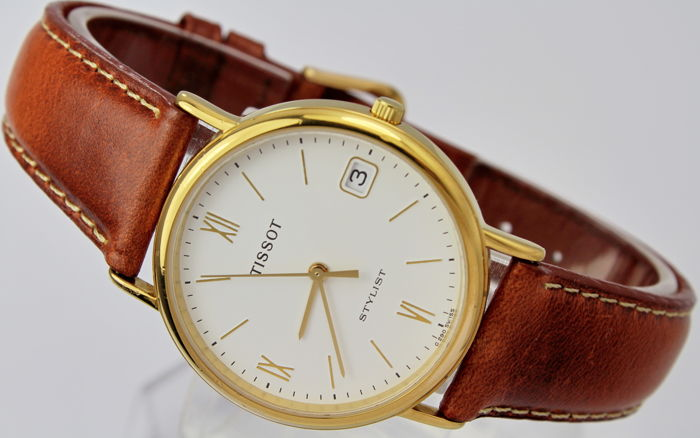 Tissot - Gold Plated  - C290 - Stylist - Men - 1990-1999