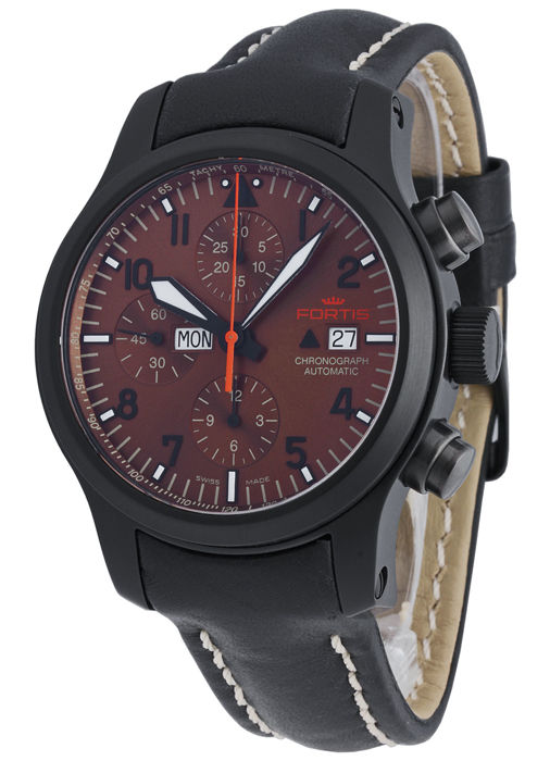 Fortis - B-42 Aeromaster Dusk Chronograph - 656.18.98 L.01 - Hombre - 2011 - actualidad