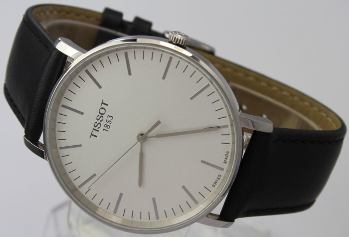 Tissot - Everytime - 42 mm Case - Box & Papers - T109.610.16.031.00 - Excellent Condition - Heren - 2011-heden