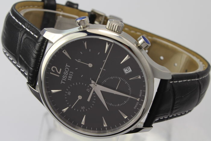 Tissot - Tradition Chronograph Box & Papers - T063.617.16.057.00 Perfect Condition - Men - 2011-present