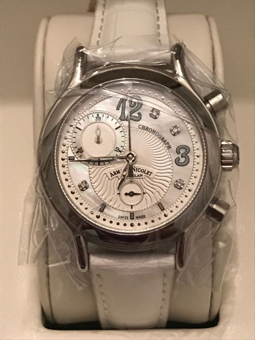 "Armand Nicolet - AL3 Diamond -  ""NO RESERVE PRICE"" - A884AAA-AN-P882BC8 - Unisex - 2011-heden"