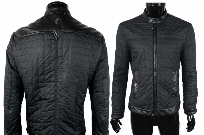 b2cb419bc Versace Collection - Leather Crafted Bomber Jacket - Catawiki